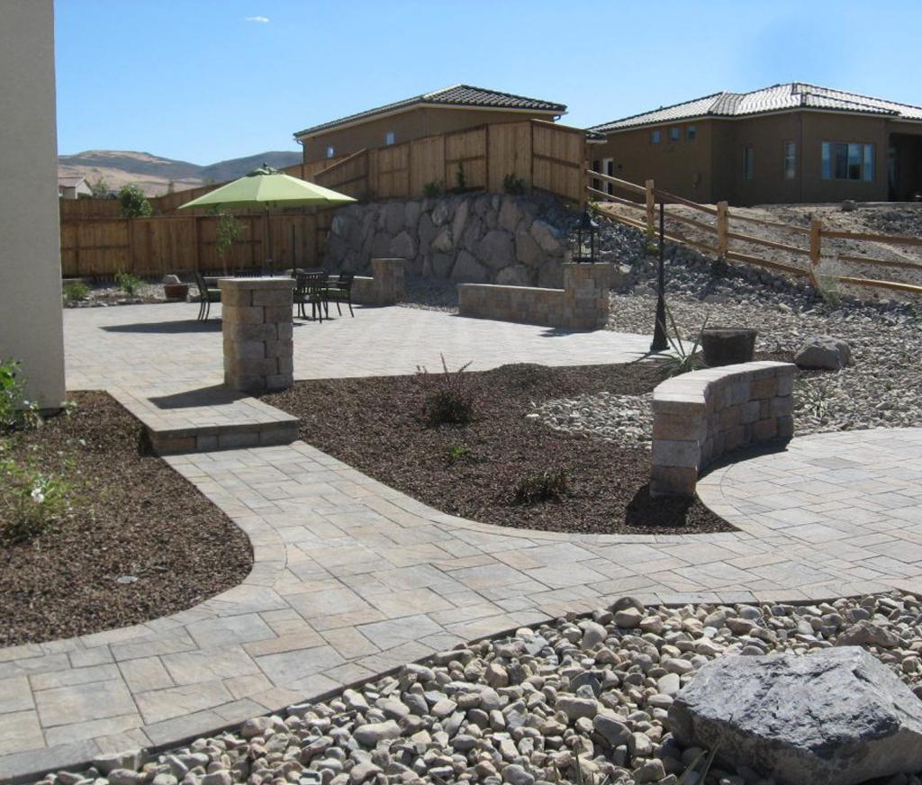 Concrete patios