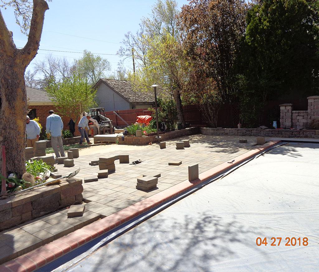 Concrete curb Reno