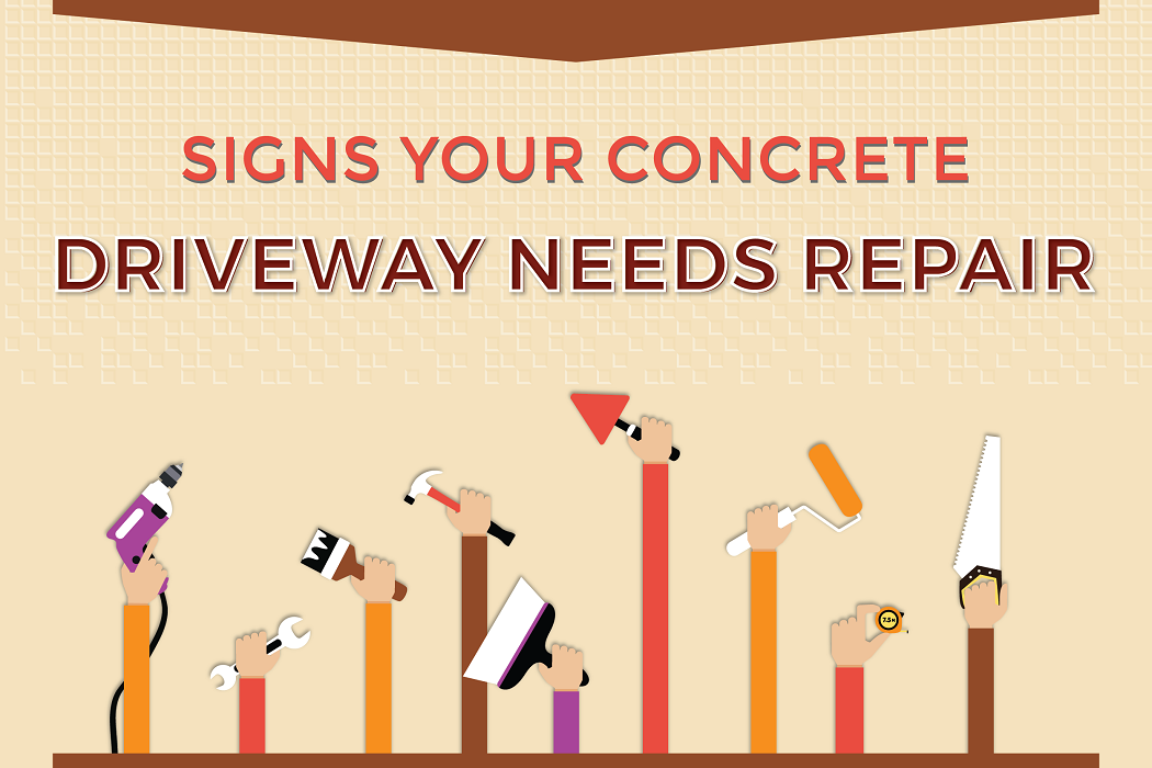 Signs Your Concrete Driveway Needs Repair